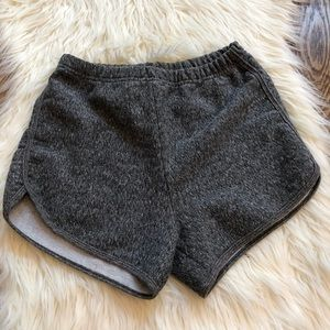 American Apparel high waist short size L